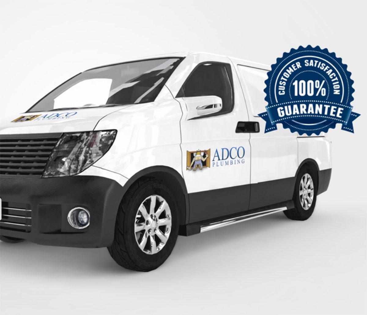 Our ADCO Plumbing Service Van