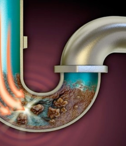 A View Into A Blocked Drain - Blocked Drain Plumber Brisbane - ADCO Plumbing